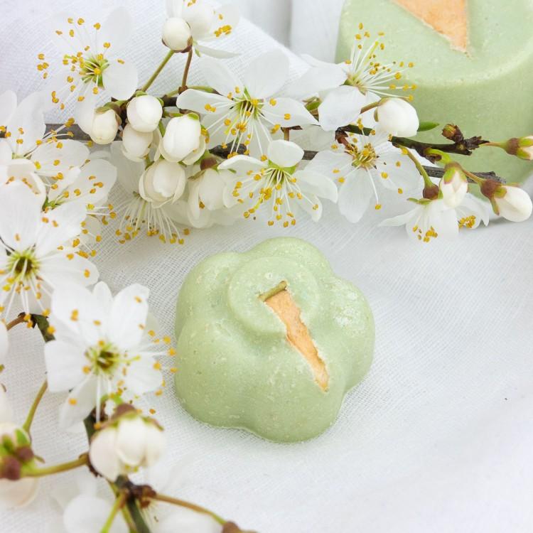 Festes Shampoo Apfelblüte Probe