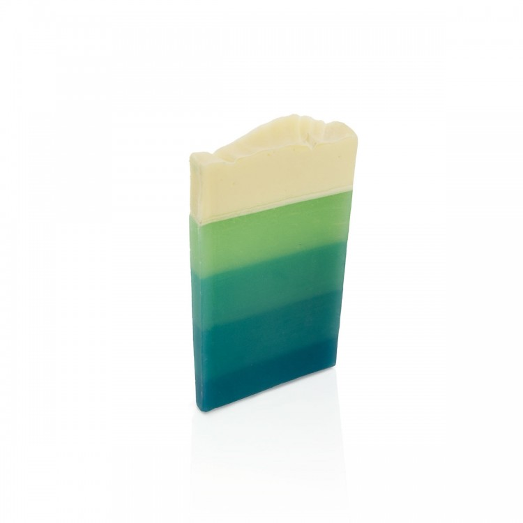 Seife Blaue Lagune Probe