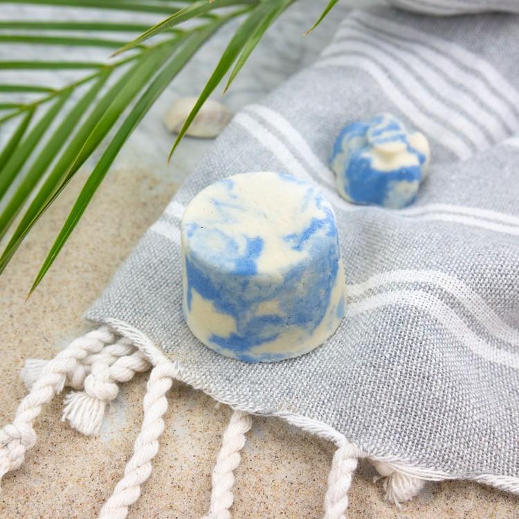 Festes Shampoo Blaue Lagune