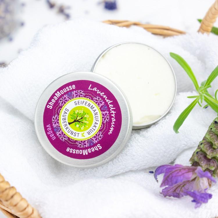 SheaMousse Lavendeltraum Probe