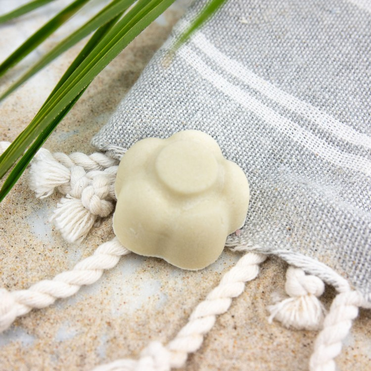 Festes Shampoo Kokosmakrone Probe