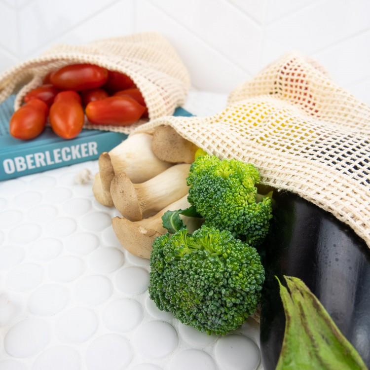 EcoYou Obst- und Gemüse-Netze + Brotbeutel