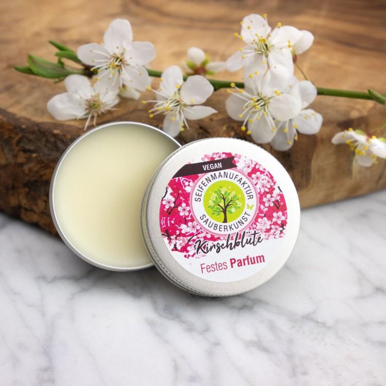 Festes Parfum Kirschblüte