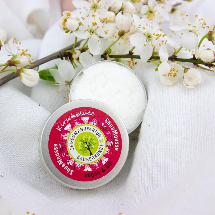 SheaMousse Kirschblüte Probe